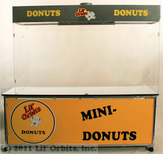 CE200 Cabinet with SS2401/SS2402 Plex and Filtration Hood Combo, suitable for any model donut or Uni-Matic II machine