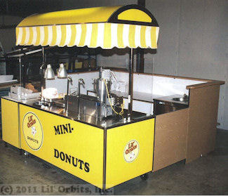 Mini Donut Mall Kiosk Concession Stands Mall Donut