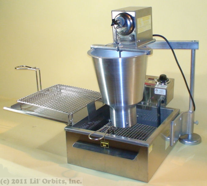 Small fryer machine