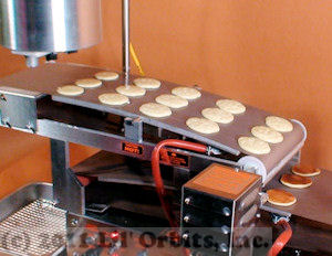 Lil' Orbits Uni-Matic II crepe & pancake machine cooks up to 1,800 pancakes per hour, without grease!