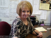 Sue Larson, Office Manager