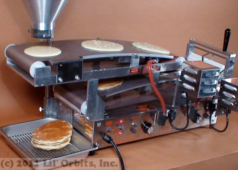 automatic crepe machine