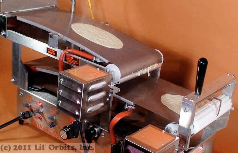 lil orbits pancake machine