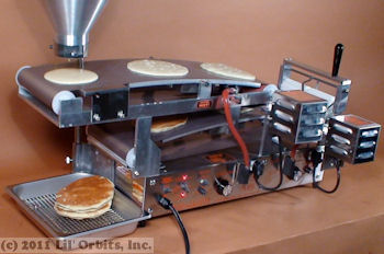 Lil' Orbits Uni-Matic II pancake & crepe maker